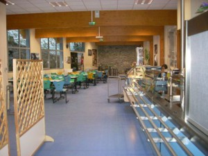 Espace de détente et de restauration des Lycéens